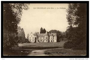château de la chapelle près sées 2