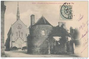 La  Basilique est juste derrière l'ancienne porte de la ville